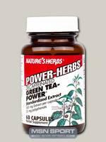 Nature's Herbs - Green Tea-Power Caffeine Free