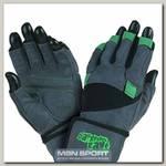 Перчатки Wild MFG860 с фиксатором - серо-зеленые