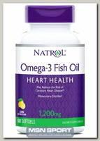 Omega Fish Oil 1200 мг