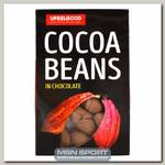 Сocoa beans in chocolate (Какао бобы в ремесленном шоколаде)