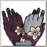 Перчатки женские New Age MFG720 - серо-красные