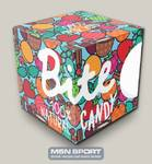 Батончики Bite Candy фруктово-ягодные blue box