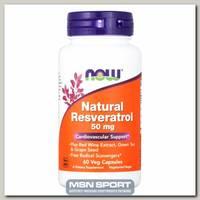 Natural Resveratrol 50 мг