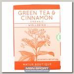 Green Tea & Cinnamon Organic (Зеленый чай с корицей)